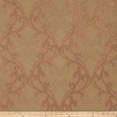 Fabricut Gwyneth Wallpaper Bronze Spice (Double Roll)
