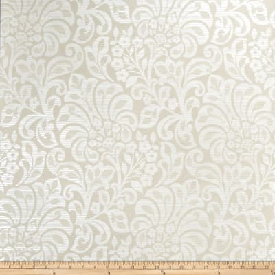 Fabricut Irony Wallpaper Pearl (Double Roll)