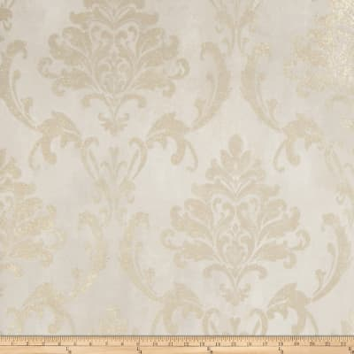 Fabricut Meryl Wallpaper Taupe Gold (Double Roll)