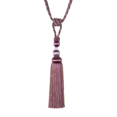 "Jaclyn Smith 29"" 02112 Single Tassel Tieback Hydrangia"