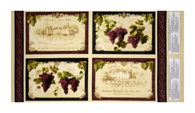 Uncorked Placemat Panel Multi