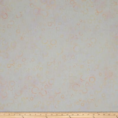 Wilmington Batiks Floating Circles Ivory Pink