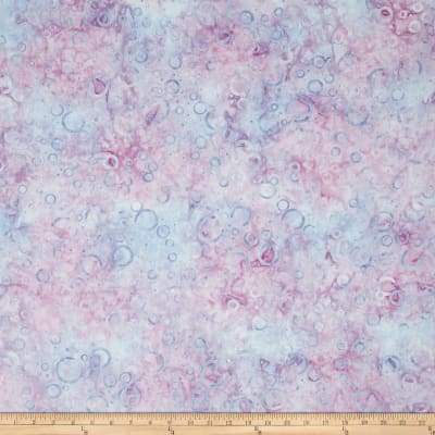 Wilmington Batiks Floating Circles Light Purple