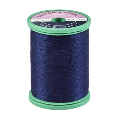 Cotton + Steel 50 Wt. Cotton Thread by Sulky Deep Arctic Sky 660 yd. Spool