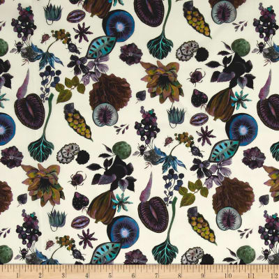 Liberty Fabrics Tana Lawn Floral Earth Multi