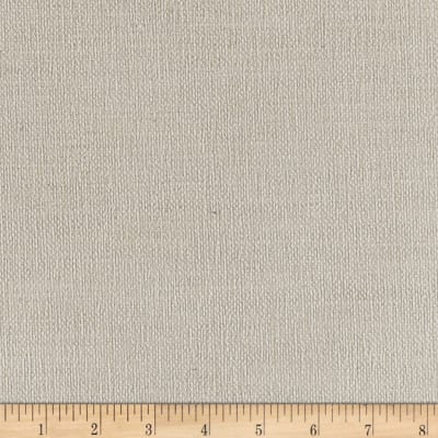 Clarence House Italian Linen Blend Basketweave Muirfield Off White