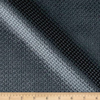 Europatex Velvet Basketweave Charcoal