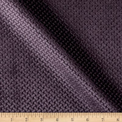 Europatex Velvet Basketweave Grape