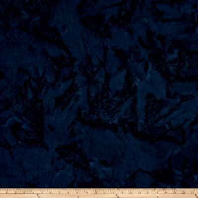 Island Batik Cotton Navy