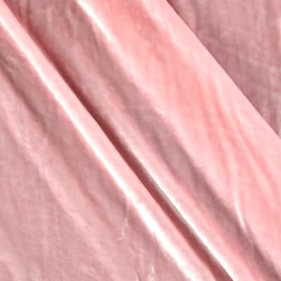 Rayon/Silk Blend Velvet Powder Pink