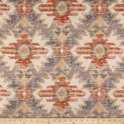 Swavelle/Mill Creek Sentosa Southwest Chenille Jacquard Apricot
