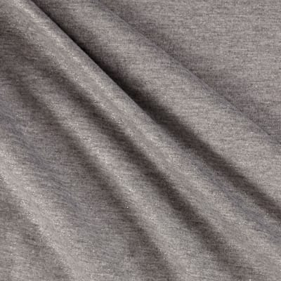 Shimmer Jersey Knit Silver/Gray