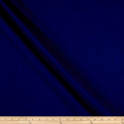 Diamond Double Knit Jacquard Royal Blue