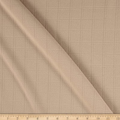 Liverpool Double Knit Plaid Beige