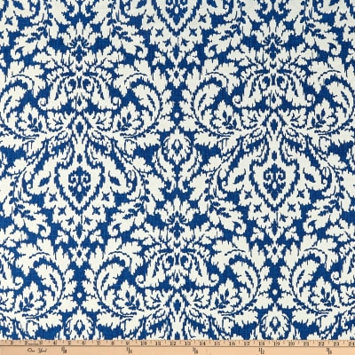 Waverly Dashing Damask BlueJay Duck