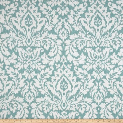 Waverly Dashing Damask Seaspray Duck
