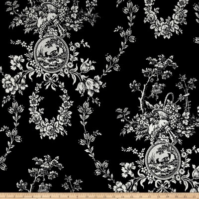 Waverly Country House Toile Noir