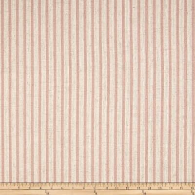 Waverly Harlow Stripe Blush Linen