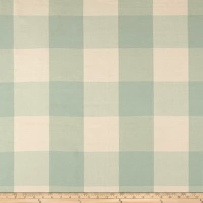 "Laura & Kiran 4"" Check Plaid Mint"