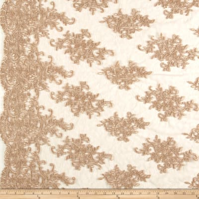 Telio Veronica Lace Embroidery Gold