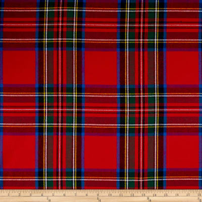 Tartan Plaid Flannel Red/Multi