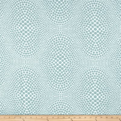 Blue Dot Jacquard Sky