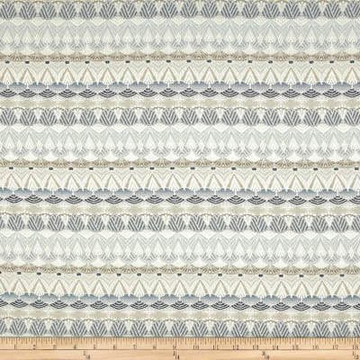 Ornate Stripes Jacquard Pewter