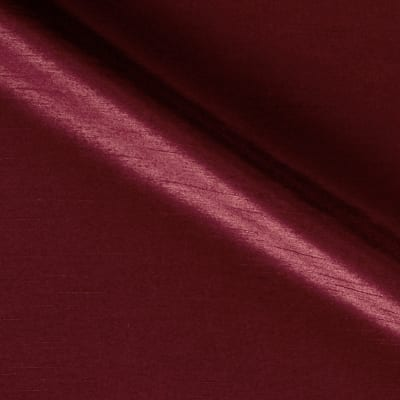 "60"" Shantung Faux Silk Bordeaux"