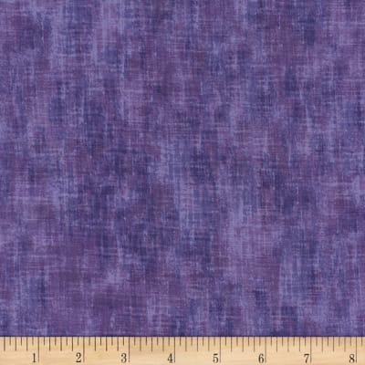 "Timeless Treasures 108"" Extra Wide Studio Texture Violet"