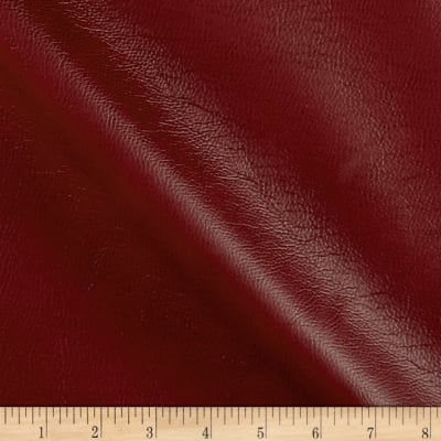 Breathable Faux Leather Cranberry