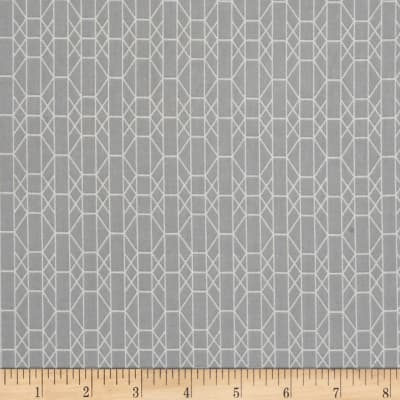 Baseline Geo Grid White/Gray