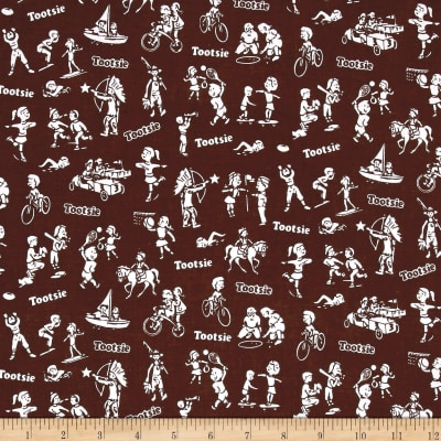 Tootsie Wrapper Brown