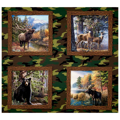 """The Great Outdoors 35"""" Panel Multi"""
