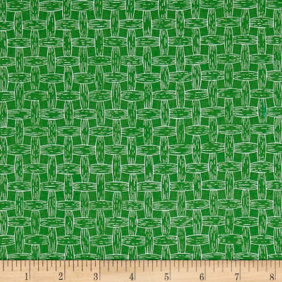 South Of The Border Basket Weave Green