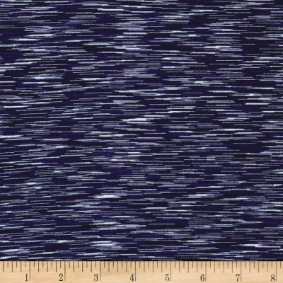 Pine Crest Fabrics Strata Athletic Knit Navy/Purple/White