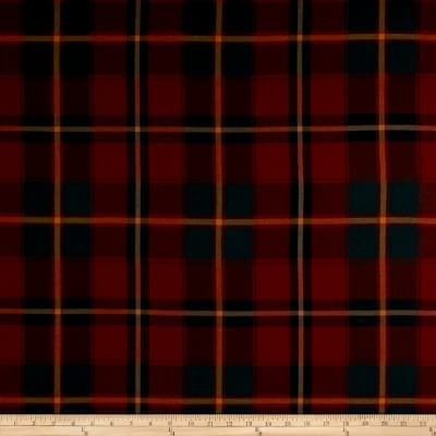 Ralph Lauren Home LCF65363F Colter Falls Plaid Tartan Red Twill