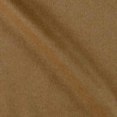 Ralph Lauren Home Burke Melton Wool Plain Camel Hair