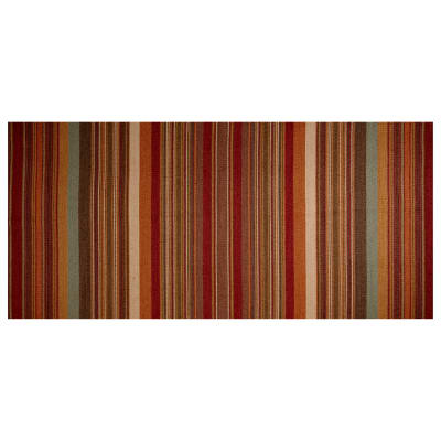 Ralph Lauren Home LCF66780F Santa Ysabel Basketweave Stripe Clay