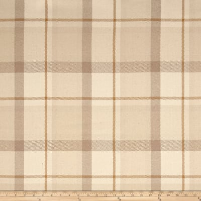 Ralph Lauren Home LCF64960F Hogarth Plaid Stone Linen Twill