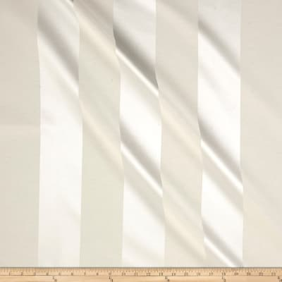 Ralph Lauren Home Breakers Awning Stripe Sateen Cameo White