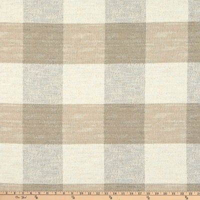 Artistry Buffalo Check Basketweave Flax