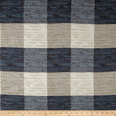 Artistry Buffalo Check Basketweave Indigo