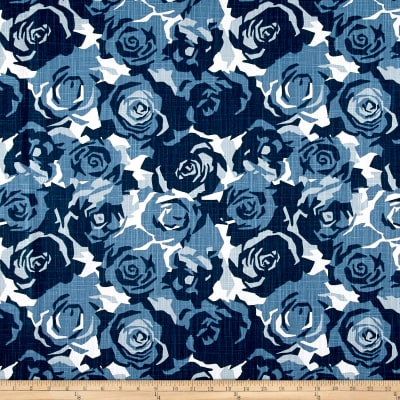 Premier Prints Farrah Prussian Blue