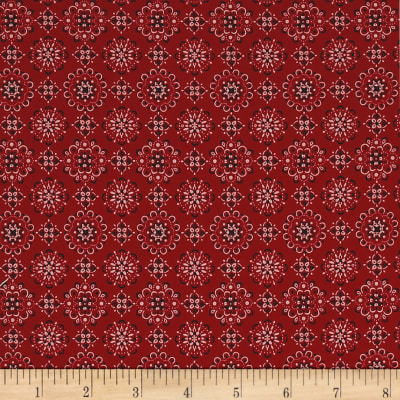 Kaufman Sevenberry: Bandana Red