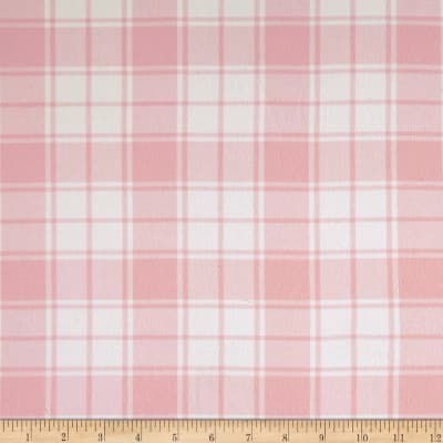 Kaufman Brooklyn Plaid Flannel Pink