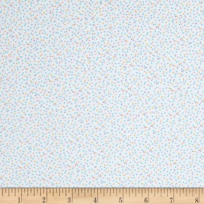 Kaufman Baby Bunting Dots Flannel Pastel