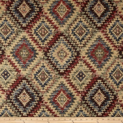Navajo Southwest Basketweave Jacquard Kayenta Sunset