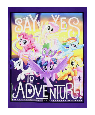 "Hasbro My Little Pony Say Yes To Adventure 36"" Panel Multi"