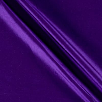 100% Silk Shantung Purple