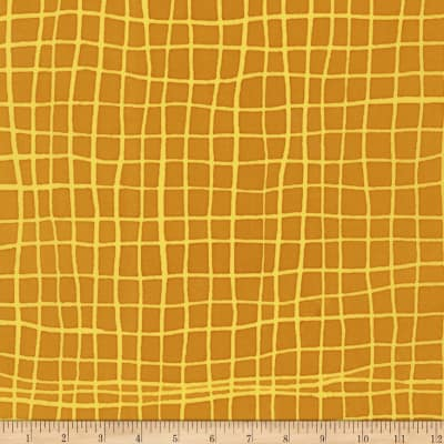Kaufman Mark To Make Grid Marigold